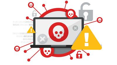 Employee devices and workstations infected with viruses and hidden threats