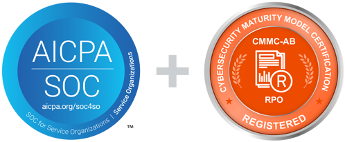 Cybersecurity Credentials SOC 2 Type 2 and CMMC