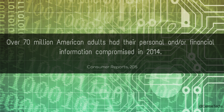 Over 70 million American adults had their personal and/or financial information compromised in 2014