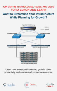 centre lunch and learn with cisco and tegile